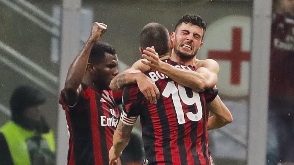 Il Milan si aggiudica il Derby con l'Inter in Coppa Italia: Cutrone Gol e semifinale contro la Lazio
