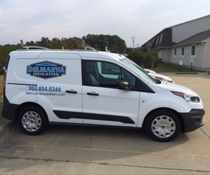 Delmarva Insulation van