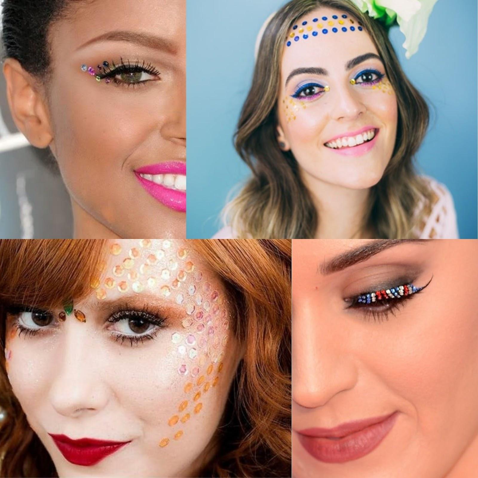 Dicas de Maquiagens para Arrasar no Carnaval