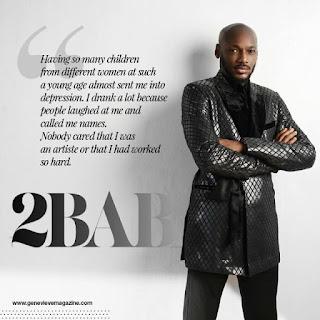 2face Idibia apologizes to wife