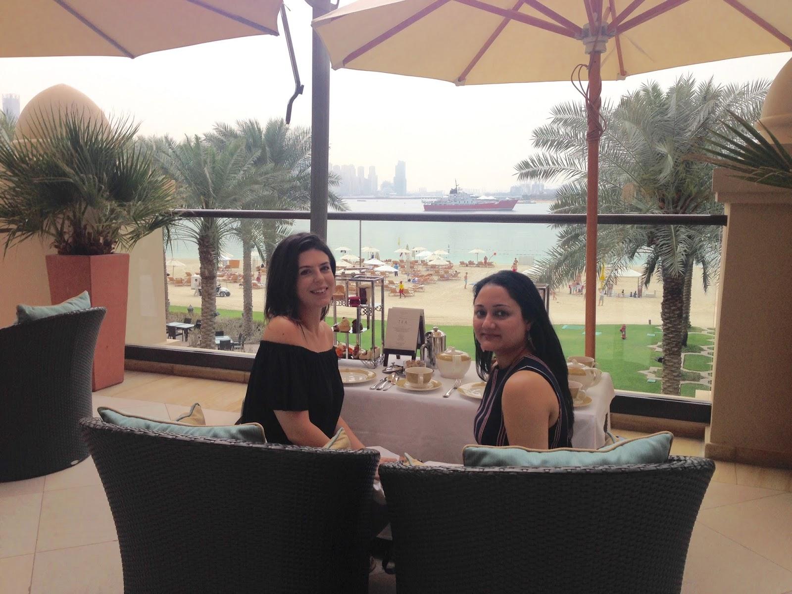 Afternoon tea at Fairmont The Palm Dubai