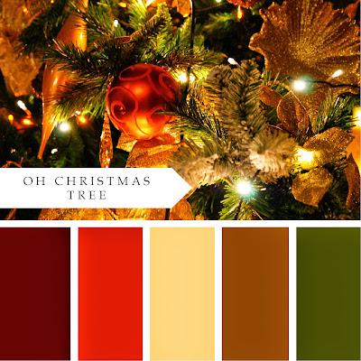Christmas Color Schemes.Christmas Color Palette