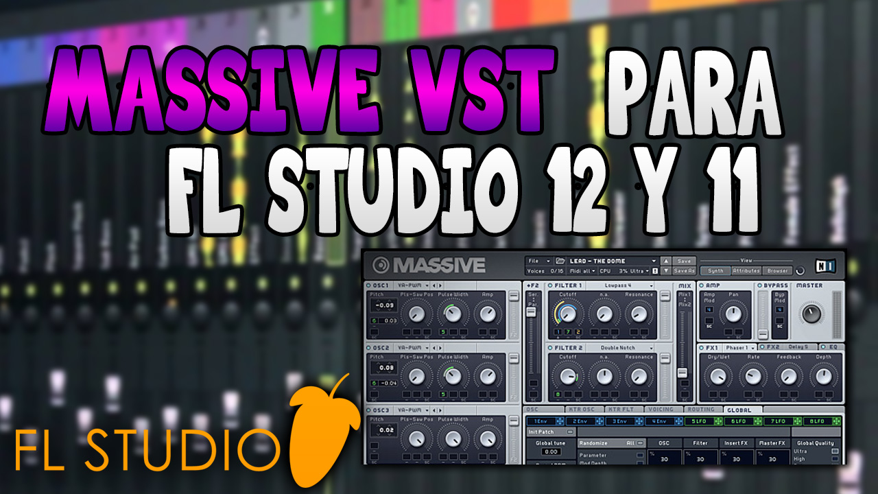 massive plugin fl studio