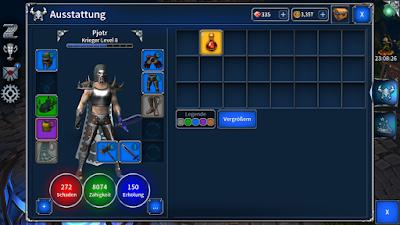 Eternium - Ausstattung Avatar