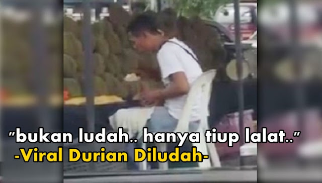 ludah durian, gambar orang ludah durian,suspek ludah durian, siapa ludah durian