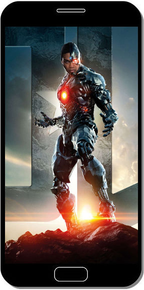 Cyborg dans Justice League - Fond d'Écran en QHD pour Mobile
