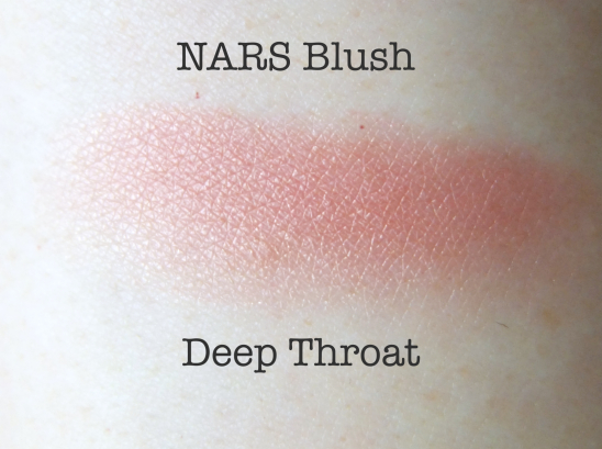 NARS Blush Deep Throat swatch