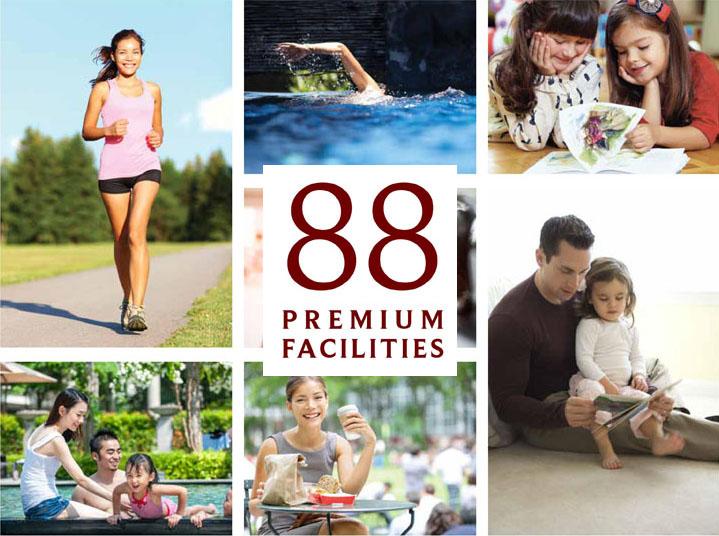 88 Premium Facilities @ Apartemen Saffron Sentul