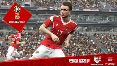 PES 2018 PS4 PESWorld Option File World Cup 2018 Edition