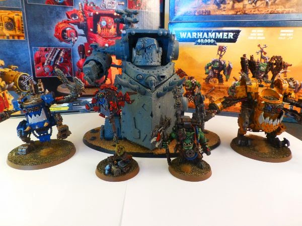 40k orks a mek and his toys 2