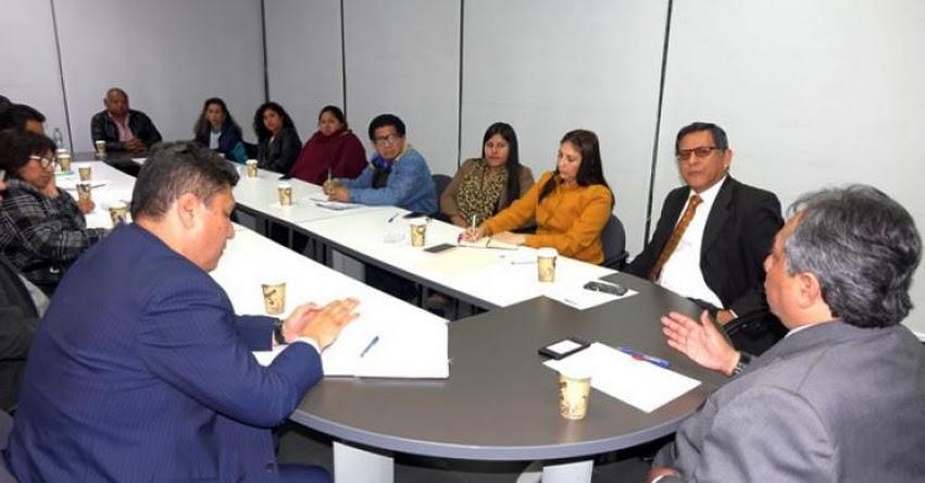 MINEDU se reúne con auxiliares del sector Educación - www.minedu.gob.pe