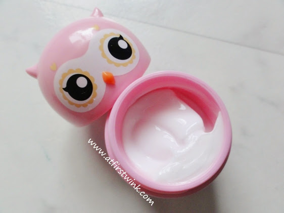 Etude House Missing U hand cream - I can fly no. 01 Eagle Owl very berry cherry scent