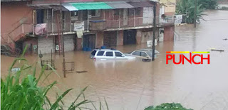 [PHOTOS] Rain submerges houses, sweeps off vehicles and properties in Ibadan