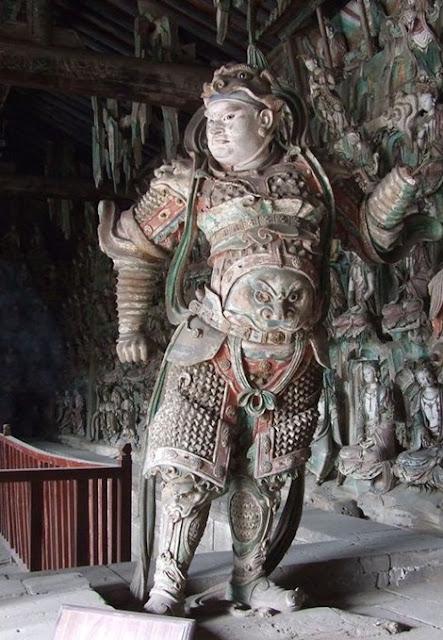 China Skanda Statue