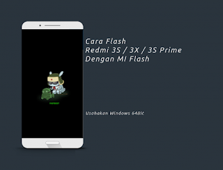 Cara Flash Xiaomi Redmi 3 Dengan Mi Flash