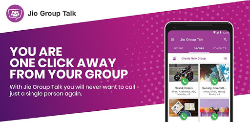 Jio Group Talk - Jio Apps Newly Released Jio Group Talk Apk Features