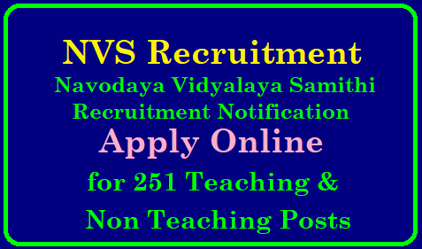 Navodaya Vidyalaya NVS Principal PGT Computer Operator Recruitment 249 Vacancies Get Details NVS Recruitment 2019 – Apply Online for 251 PGT, Principal & Other Posts |NVS Recruitment 2019: Navodaya Vidyalaya 251 Teaching & Non-Teaching Job | NVS Recruitment 2019: Navodaya Vidyalaya Issued Notification for 251 Teaching & Non-Teaching Posts | Navodaya Vidyalaya teacher recruitment 2019: Apply for 251 posts, check details | NVS Recruitment 2019 – Apply Online for 251 PGT, Principal & Other Posts/2019/01/nvs-various-teaching-and-non-teaching-posts-recruitment-notifiaction-admit-cards-results-selection-list-navodaya-scheme-of-exam-apply-online-navodaya.gov.in.html