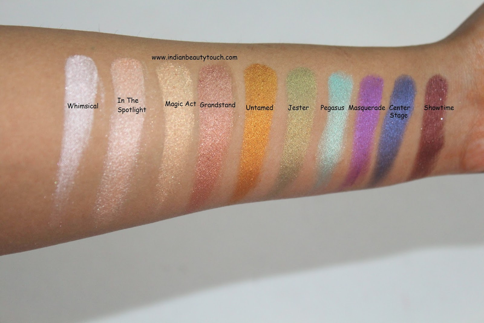 Top Makeup Geek Eye shadows Swatches and Review - Indian Beauty Touch HV01