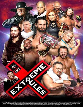 WWE Extreme Rules 2019 PPV WEBRip Full Show Download HD