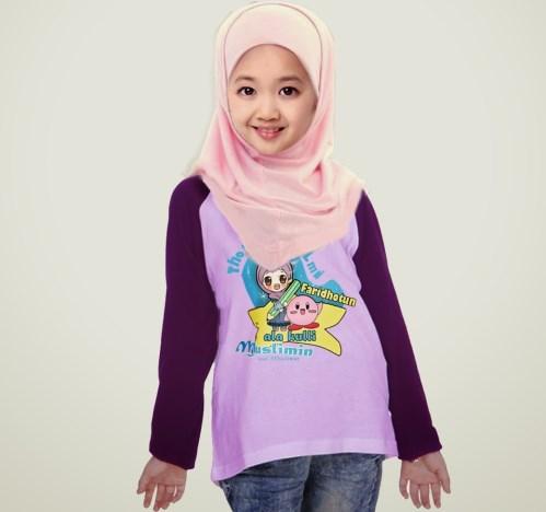 Kaos Muslim Anak Berkarakter