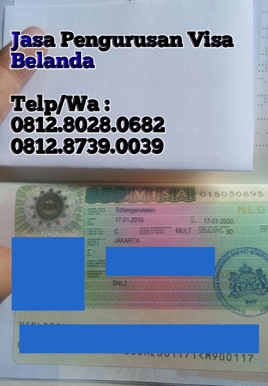 Cv Azhar Bersinar Jasa Pembuatan Visa Schengen Belanda