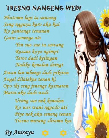 Puisi Cinta Bahasa Jawa Celoteh Bijak