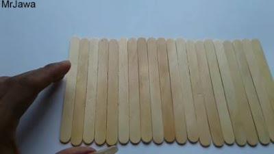 Cara Membuat Tempat Pensil dari Stik Es Krim Sederhana