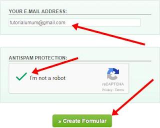 Membuat Contact Form Email Dengan PHP