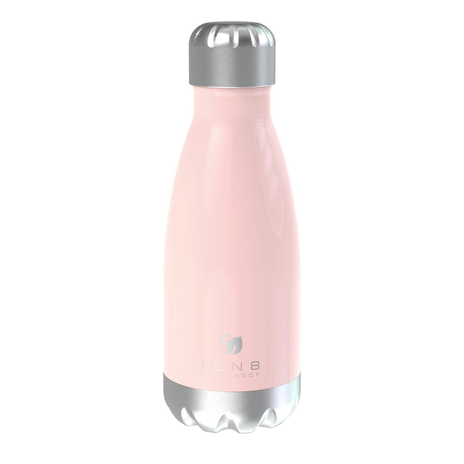 Ion8 Leak Proof Flask in Rose Quartz Pink