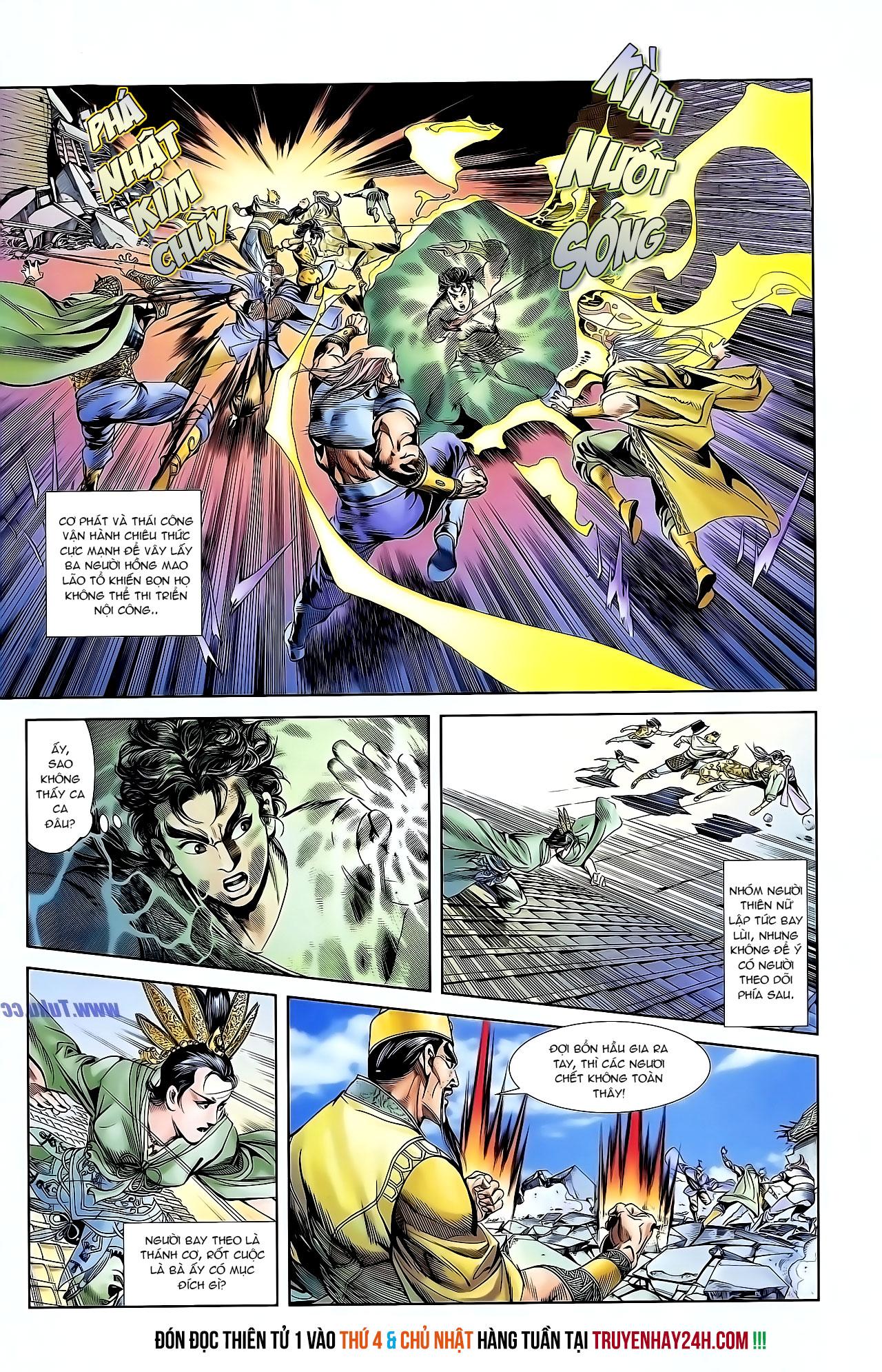 Cơ Phát Khai Chu Bản chapter 126 trang 28