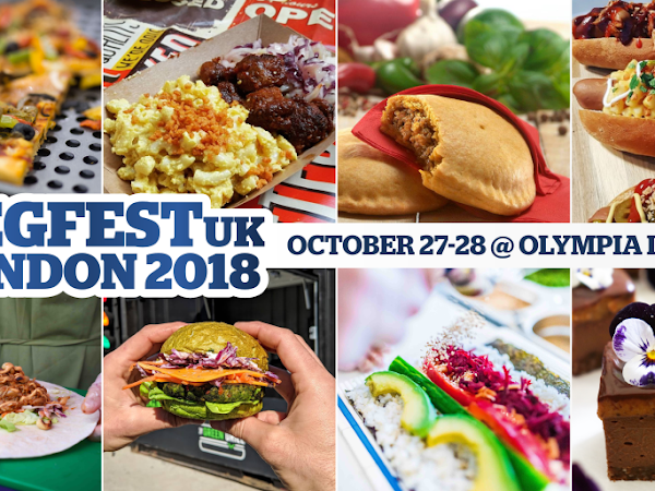 *Win* Two Weekend Tickets To Vegfest London! *Ended*