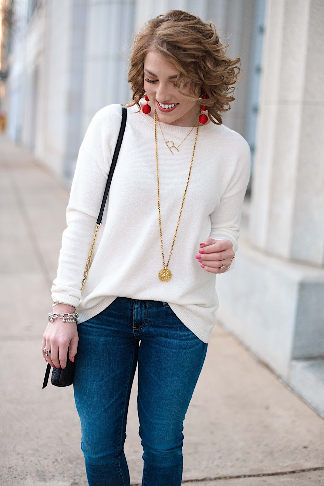 Julie Vos Coin Necklace - Click through for more on Something Delightful Blog