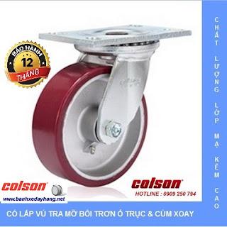 Giá bánh xe kéo hàng chịu lực Colson Caster Mỹ www.banhxedayhang.net
