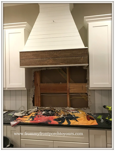 farmhouse kitchen DIY-tile rip out-from my front porch to yours