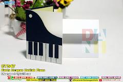 Kartu Ucapan Hadiah Piano