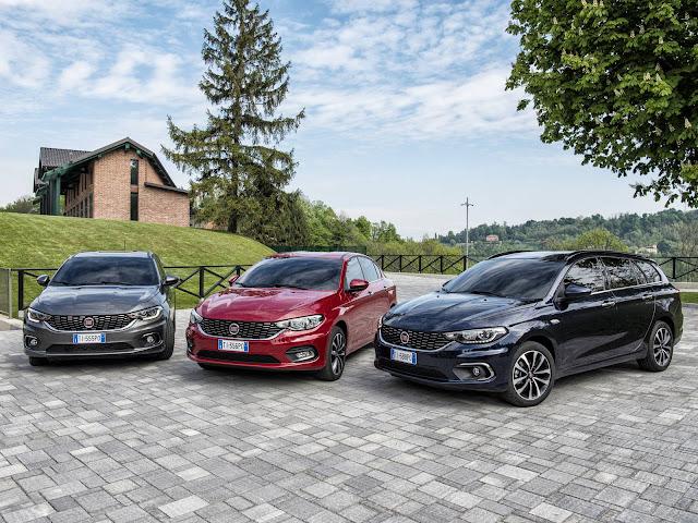 Família Fiat Tipo 2017