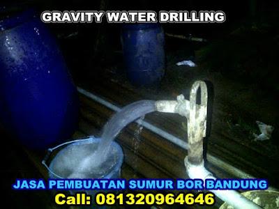 JASA PENGEBORAN SUMUR BOR AIR DI GRAVITY WATER DRILLING BANDUNG