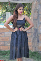 Pragya Nayan New Fresh Telugu Actress Stunning Transparent Black Deep neck Dress ~  Exclusive Galleries 020.jpg
