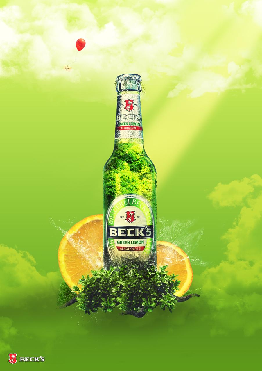Green Lemon Becks