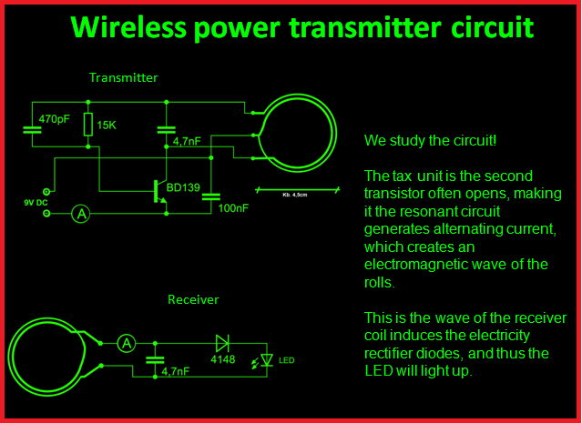Wireless Bpower Btransmitter Bcircuit on Forward Reverse Motor Wiring Diagram