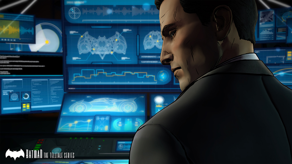 Batman - The Telltale Series Screenshot Bruce Wayne in the Batcave