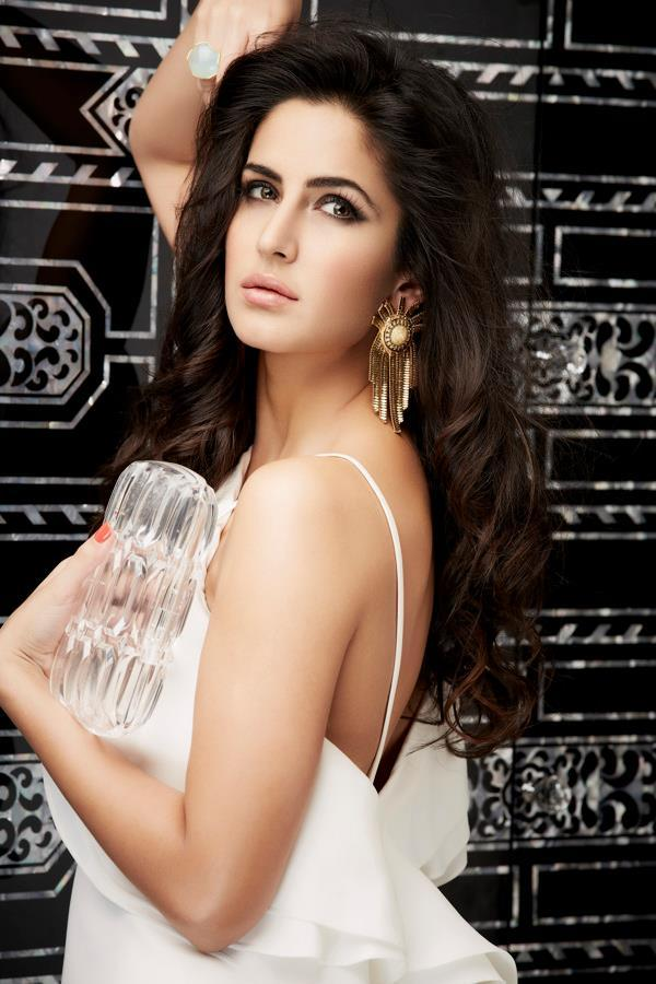 Sparkling Beauty Katrina Kaif Hot Photoshoot Gallery In White Top