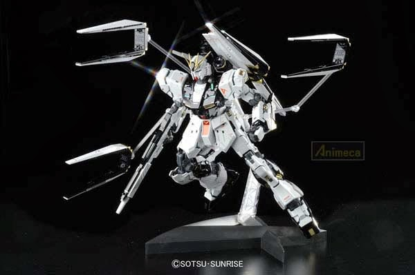 MODEL KIT Nu GUNDAM RX-93 Ver. Ka Titanium Finish MASTER GRADE MG 1/100 CHAR'S COUNTER ATTACK BANDAI
