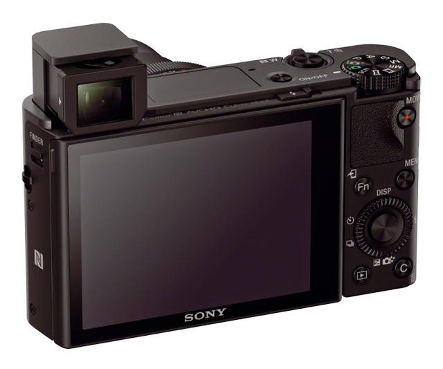 Il mirino estraibile della Sony RX100 III