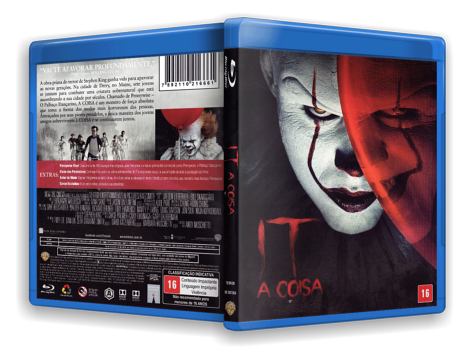 Capa Blu-Ray It A Coisa (Oficial)