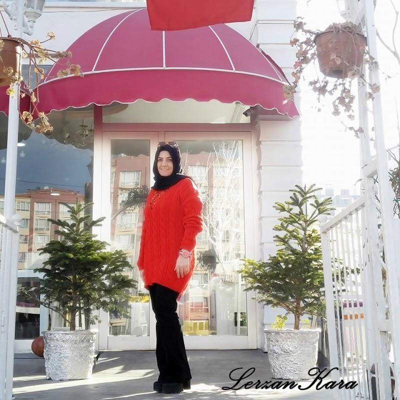 Kırmızı Salaş Kazak (Tunik) Modası
