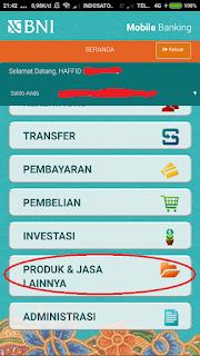 Aplikasi BNI Mobile