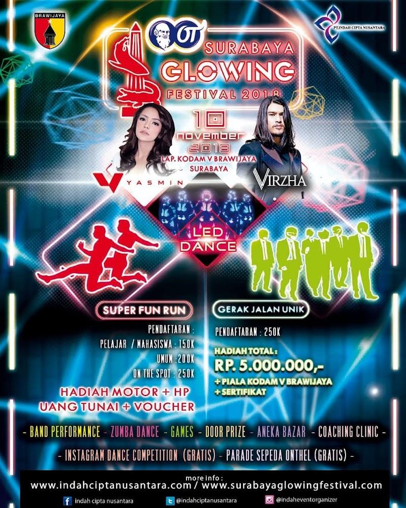 Surabaya Glowing Festival • 2018
