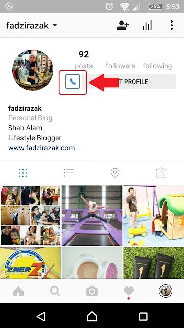 Cara Tukar Instagram Personal Kepada Instagram Bisnes