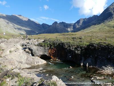 Fairy Pools en Skye